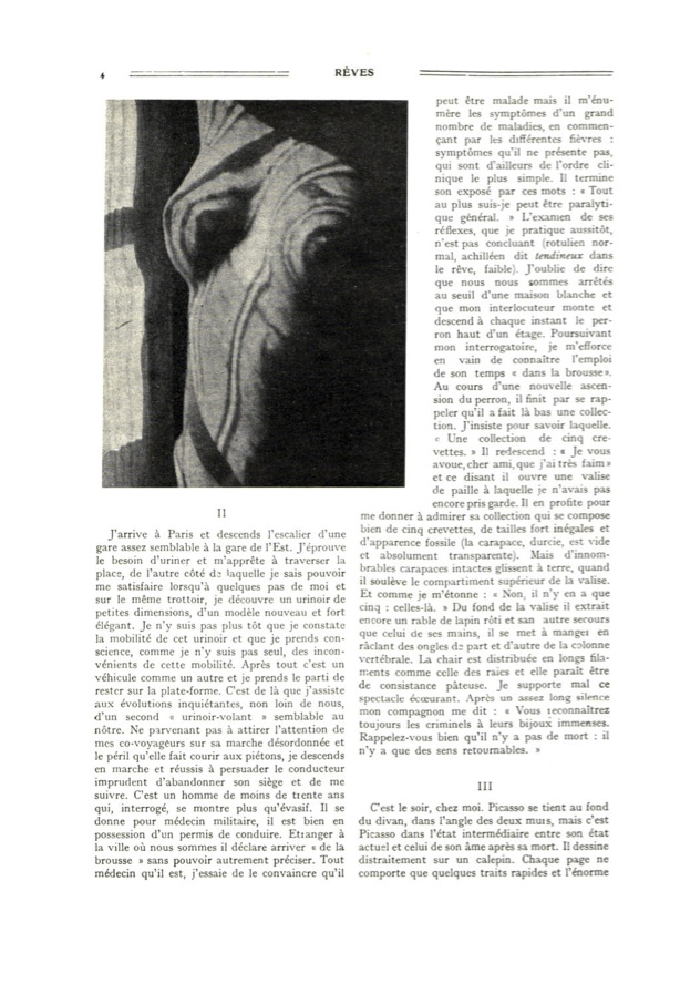La Révolution Surréaliste, issue no. 1, 1924, p. 4