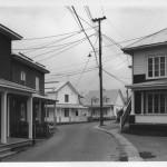 """""""Rue Saint-Adolphe, Baie-Saint-Paul"""" Gabor Szilasi, 1970"""
