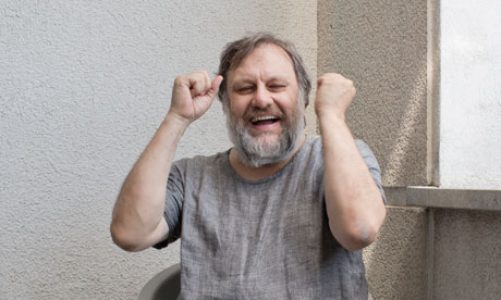 Slavoj Z iz ek at his hom 008