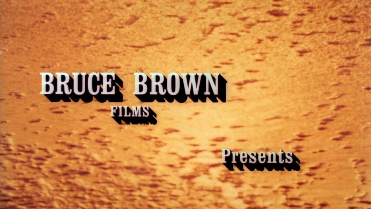 Still From The Opening Credit Of Movie Endless Summer By Bruce Brown 1964