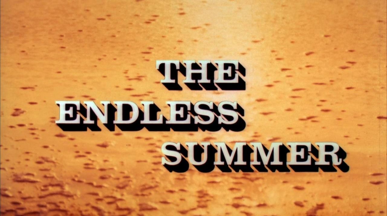 The Endless Summer Movie Poster By John Van Hamersveld 1964