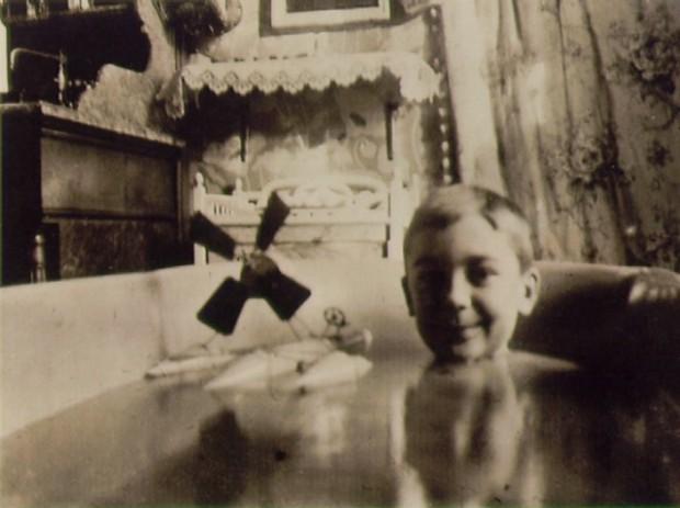 """""""Self-portrait with hydroglider"""" by Jacques Henri Lartigue, Paris, 1904"""