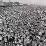 """Coney Island Beach"" by Weegee, 1940"