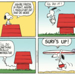 """Surf's Up!"", Peanuts, August 2, 1965"