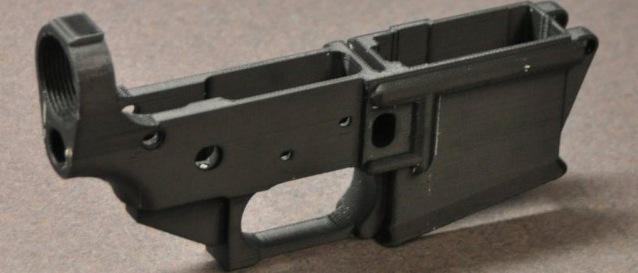Pistol 3D printer