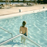 """Ginger Shore, Causeway Inn, Tampa, Fla., Nov. 17, 1977"" by Stephen Shore"