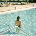 """Ginger Shore, Causeway Inn, Tampa, Fla., Nov. 17, 1977"" by Stephen Shore"