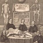 Frontispiece for 'Anatomische Tafeln' by Giulio Casserio, 1656
