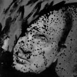 """Portrait in the Mirror"" by Francis Giacobetti, 1991, silver gelatin print, 37 x 60 cm. © Francis Giacobetti"