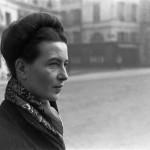 Simone de Beauvoir by Henri Cartier-Bresson, Paris, France, 1945. © Henri Cartier-Bresson/Magnum Photos
