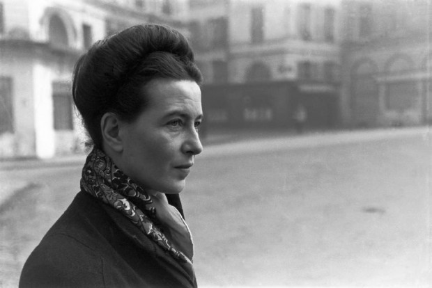 Simone de Beauvoir by Henri Cartier-Bresson, Paris, France, 1945. © Henri Cartier-Bresson/Magnum Photos