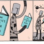 """""""The Ethic of War"""" by Tom Gauld, December 2012"""