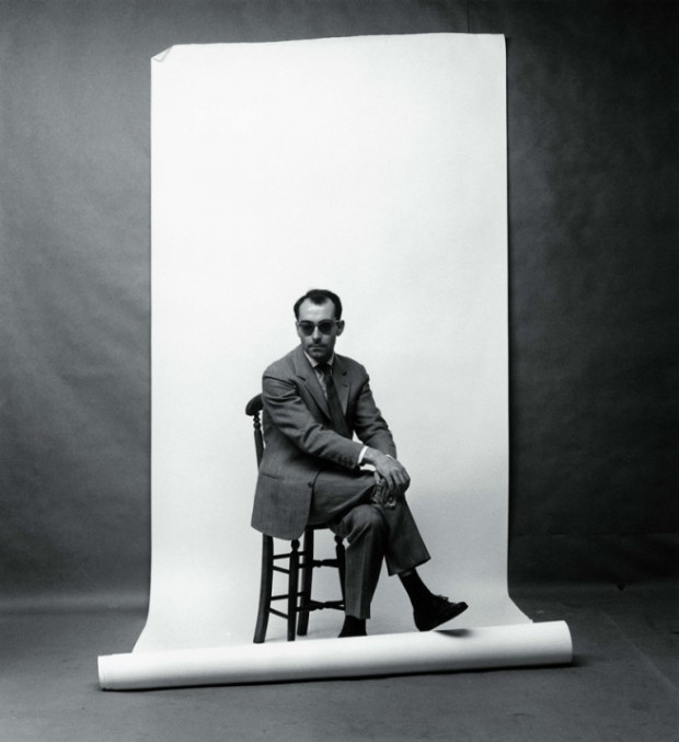 Jean-Luc Godard by Franz Christian Gundlach, 1961. Photo taken for the Hamburg magazine 'Film und Frau'. © Franz Christian Gundlach