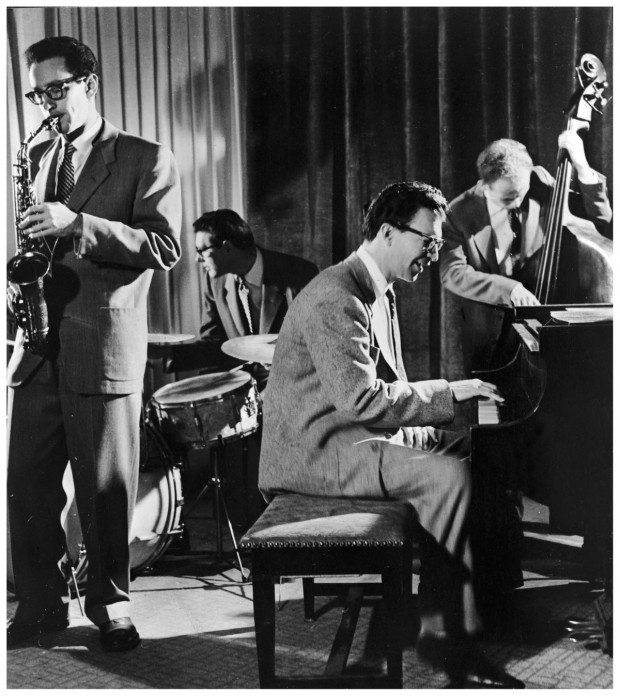 The Dave Brubeck Quartet, photo by Michael Ochs, ca. 1955. © Getty Images