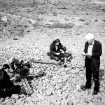 Derrida, Jean-François Mabire, Martial Barrault (director of photography), Safaa Fathy, Almeria, Spain, 1999. Retrieved from Diacritics, Volume 38, Numbers 1-2, Spring-Summer 2008, p. 23.