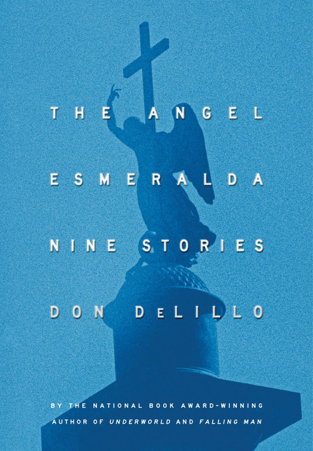 Cover for Don DeLillo collection of short stories 'The Angel Esmeralda', 2011