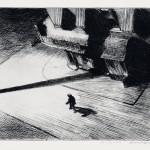 """""""Night Shadows"""" by Edward Hopper, 1921"""