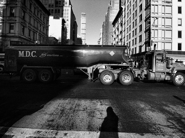 """Record No. 15, New York"" by Daido Moriyama, 2010, archival pigment, printed 2013, 35 x 24 in. Image retrieved from Steven Kasher Gallery."