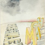 """February to March"" by Saul Steinberg, 1968"