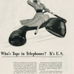 """Who's Tops in Telephones? It's U.S."", Bell Telephone System, 1948"