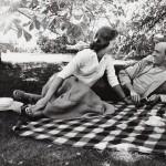 Ingmar Bergman and Käbi Laretei, by Lennart Nilsson, 1960s
