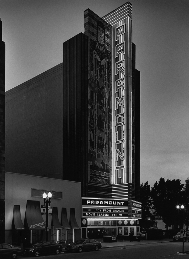 Oakland's Paramount Theatre photographed by David Fenton. © David Fenton. Used with permission.