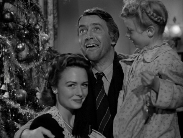 Still from the ending sequence of Frank Capra's movie 'It's a Wonderful Life' (1944) @ 2 hr 9 mins 15 sec.