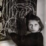"""""""Tereska Draws Her Home"""" by David Seymour, 1948"""