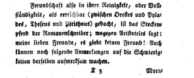 Immanuel Kant, 'Die Metaphysik der Sitten, Königsberg', 1797, p. 153