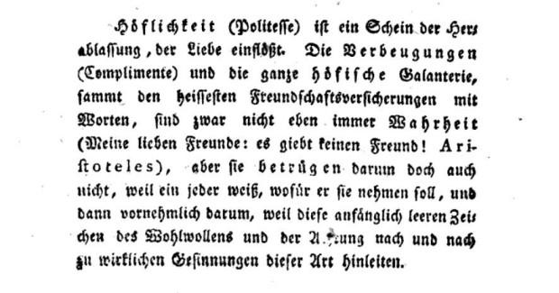 Immanuel Kant, 'Anthropologie in pragmatischer Hinsicht abgefasst', [1798]1800, p. 44