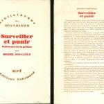 'Surveiller et punir' by Michel Foucault: back cover text