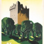 Pan American travel poster for Ireland by Edward McKnight Kauffer, 1953
