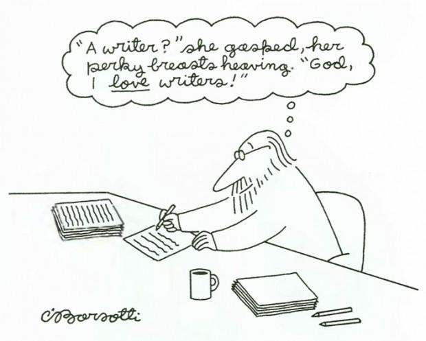 A cartoon by Charles Barsotti, 1994
