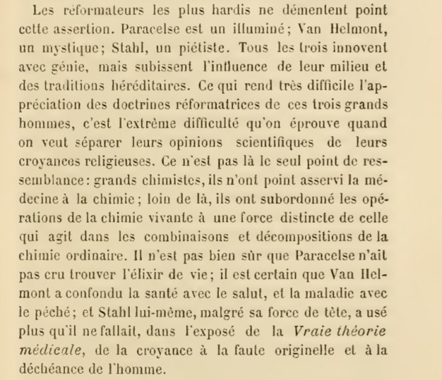 Screenshot of page 311 in 'Histoire de la médecine d'Hippocrate à Broussais et ses successeurs' by Joseph-Michel Guardia (Paris: Douin, 1884). Retrieved from the Internet Archive.