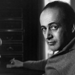 Paul Celan in Paris, by Lufti Özkök, 1963. © Lufti Özkök.
