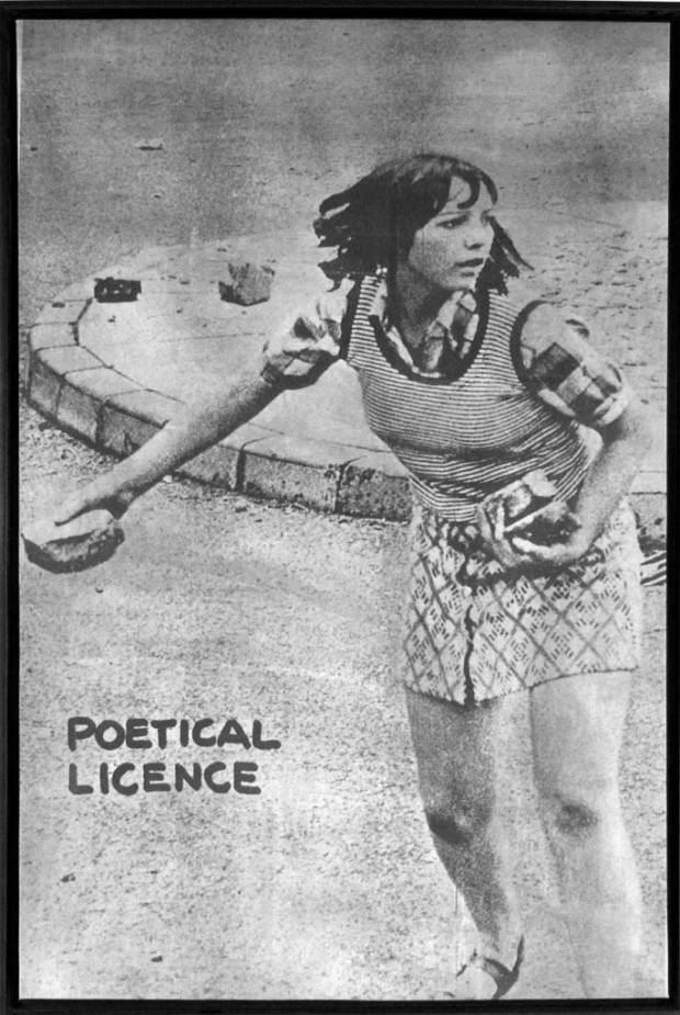 """Poetical Licence"" by Sarenco, 1973"