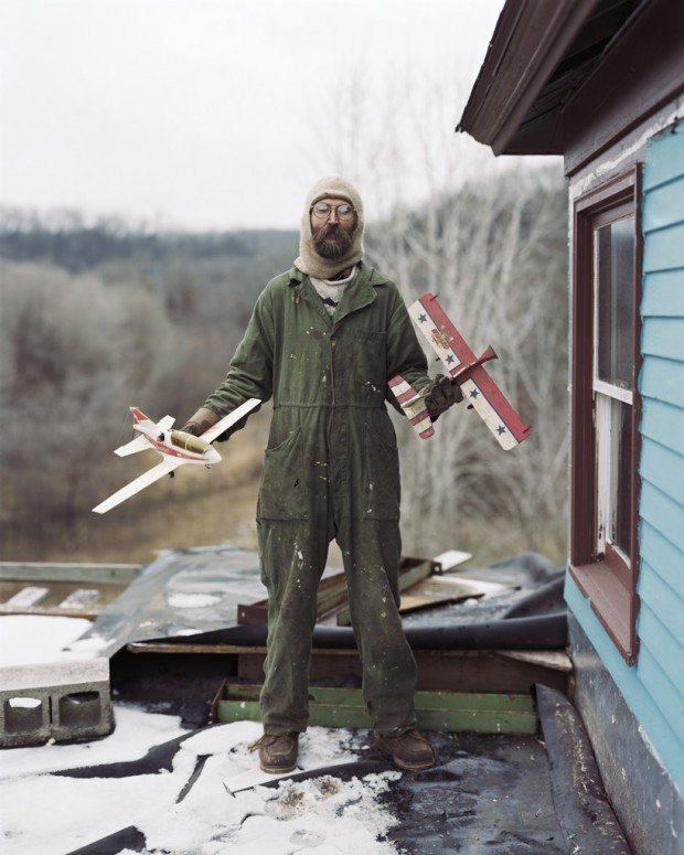 """Charles, Vasa, Minnesota"" by Alec Soth, 2002. Part of the 'Sleeping by the Mississippi' series. Image retrieved from the Brooklyn Museum website. © Alec Soth."