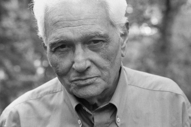 Portrait of Jacques Derrida by French photographer Raymond Depardon, June 18, 2004. Magnum Photos Image Reference DER2004006W00003/18A (PAR279899). © Raymond Depardon/Magnum Photos.