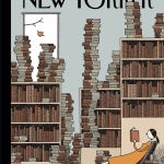 """""""Fall Library"""" by Tom Gauld, 2014"""
