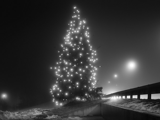 Series 'Before You, Santa Claus, Life was like a Moonless Night', by  Andrea Alessio, no 4