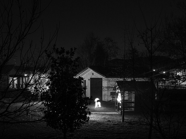 From the series 'Before You, Santa Claus, Life was like a Moonless Night', by  Andrea Alessio, image no 13, 2013.