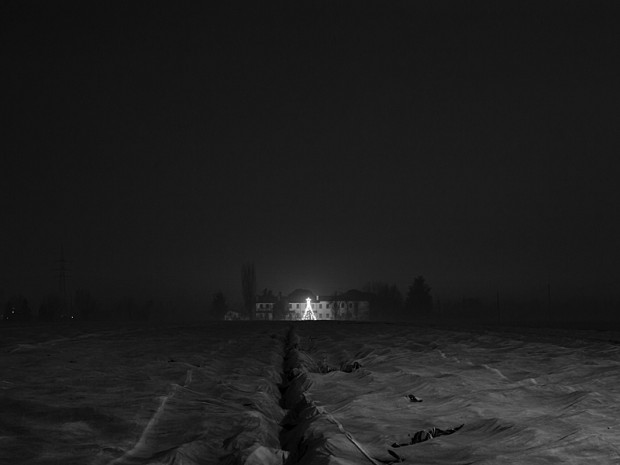From the series 'Before You, Santa Claus, Life was like a Moonless Night' by  Andrea Alessio, image no 31, 2013.