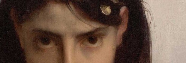 'La cigale' ('The grasshopper') (detail 01), Jules Joseph Lefebvre, 1872.