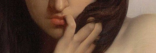 'La cigale' ('The grasshopper') (detail 02), Jules Joseph Lefebvre, 1872.
