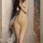 'La cigale' ('The grasshopper') by Jules Joseph Lefebvre, 1872