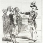 Greece debt through the ages: a caricature by H. Daumier from 1850