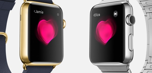 Apple's promotional material for the Apple Watch. Retrieved from Apple.com, April 2015