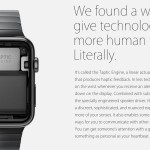 Apple's promotional material for the Apple Watch. Retrieved from Apple.com, April 2015.