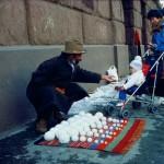 Bliz-aard Ball Sale by David Hammons, 1983
