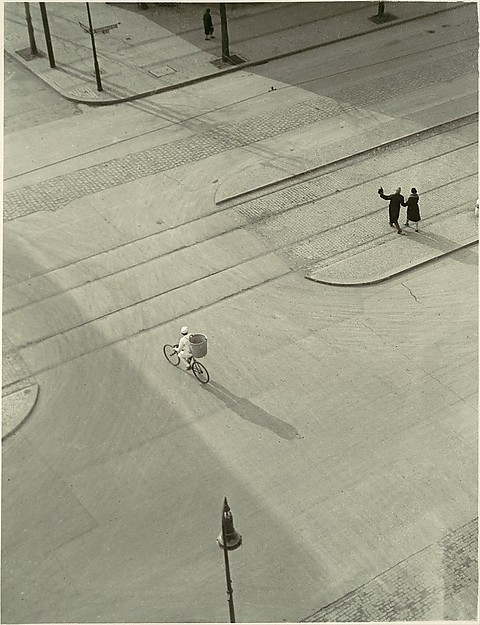"""7 A.M. (New Year's Morning)"" by László Moholy-Nagy, ca. 1930, gelatin silver print, 27.8 x 21.3 cm (10 15/16 x 8 3/8 in.).  Image retrieved from the Metropolitan Museum of Art. Accession Number: 1987.1100.155."